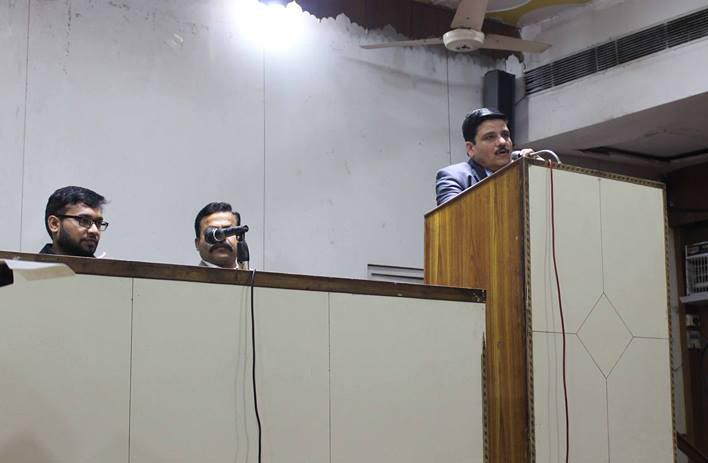 dr n k sharma sir giving lecture