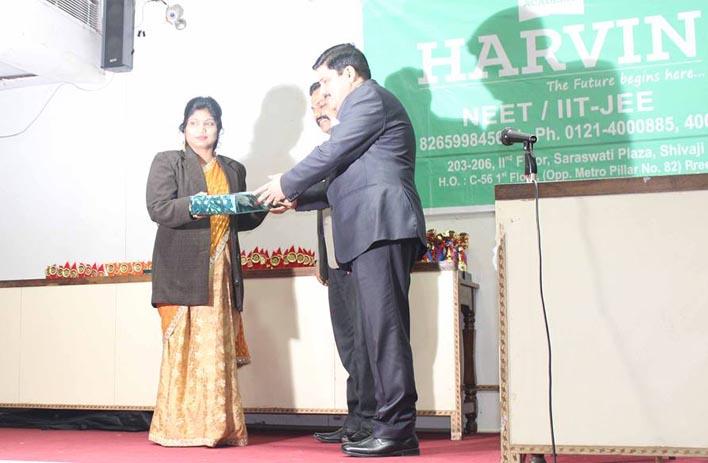 presentation celebration at harvin