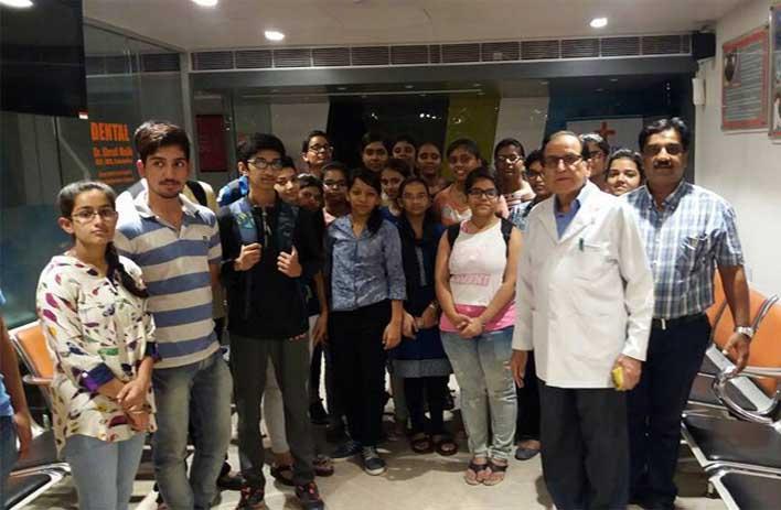 student visit at radix health care hospital