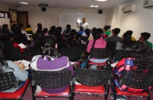 neet students in classroom