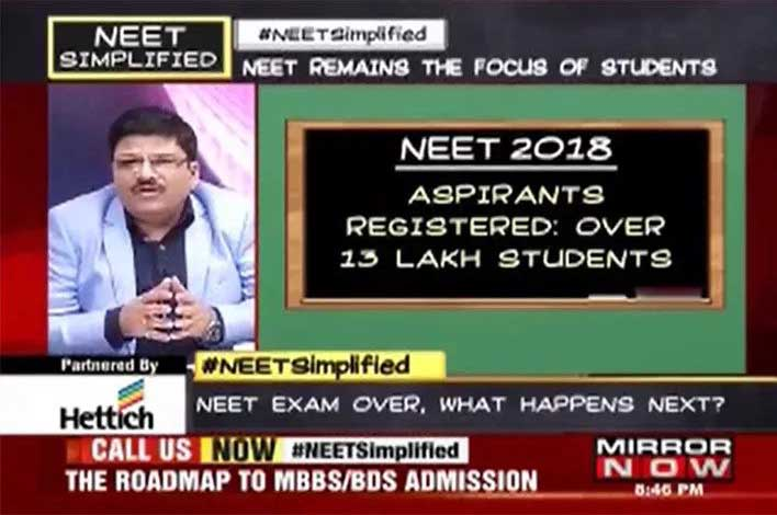 harvin academy director on neet panel media discussion